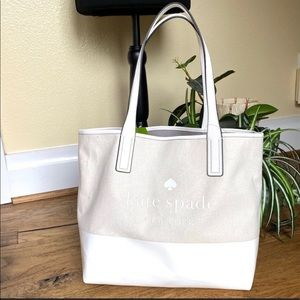 Kate Spade Triple Compartment Tote NWT